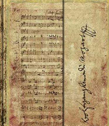 Mozart Mini Notes Unlined
