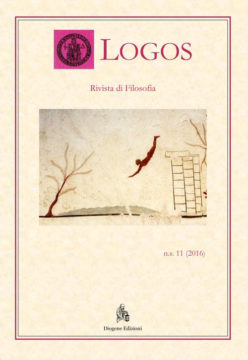 Logos. Rivista di filosofia (2016). Vol. 11.