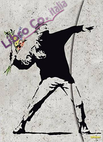 Banksy Flower Bomber Magneto Journal, Large