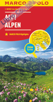 Alpi 1:800.000