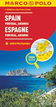 Spagna. Portogallo 1:800.000