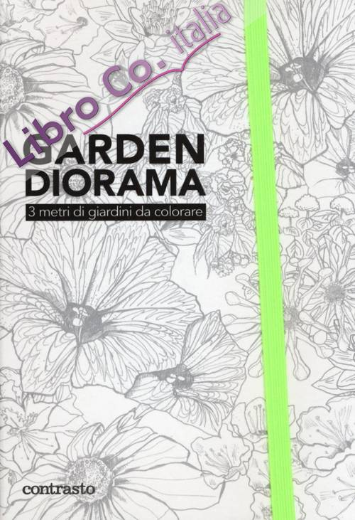 Garden diorama. 3 metri di giardini da colorare.