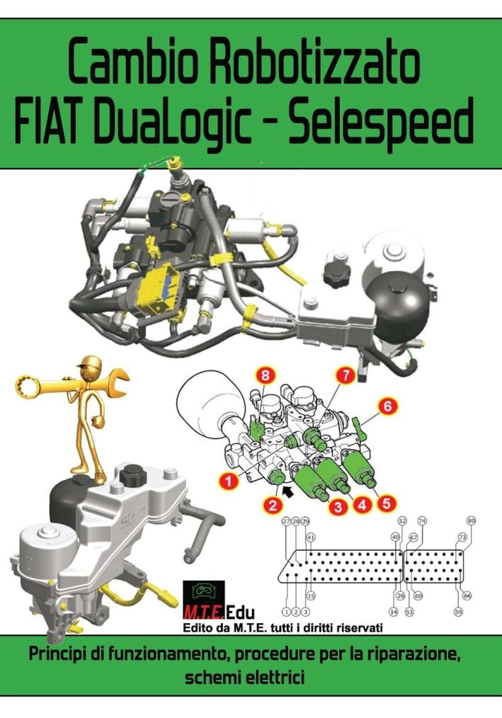 Cambio robotizzato FIAT DuaLogic-Selespeed. Principi di funzionamento, procedure per la riparazione, schemi elettrici