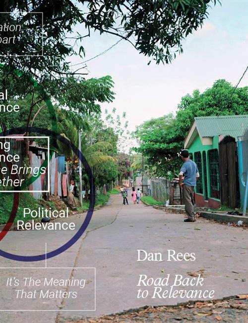Dan Rees. Road back to revelance. Ediz. illustrata