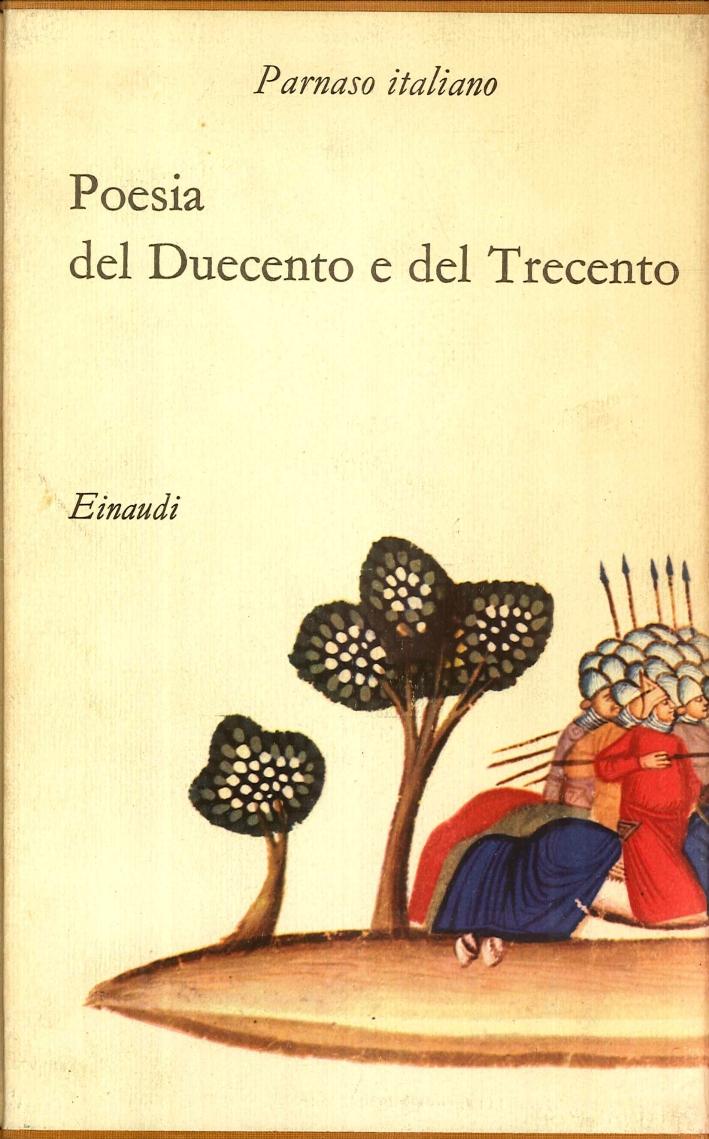 Parnaso Italiano Vol. 1: Poesia del Duecento e del Trecento.
