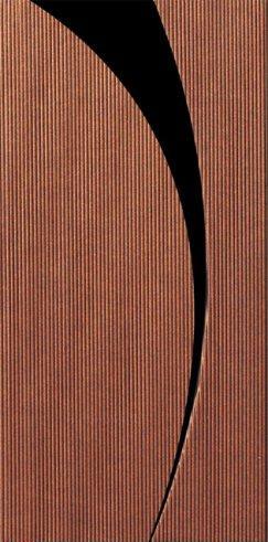 Designer Wrap Ribbed Copper Slim. Lined