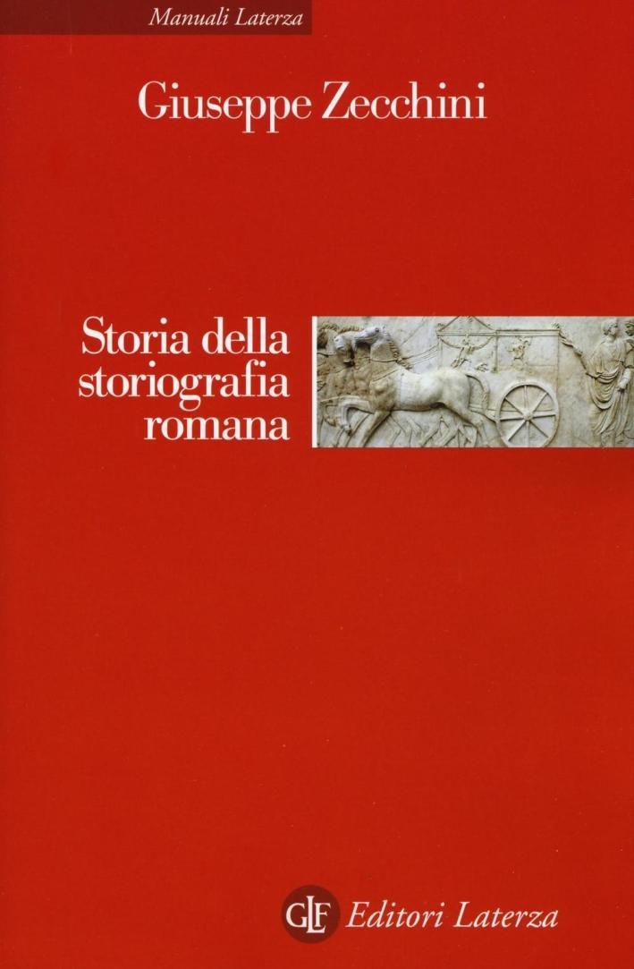 Storia della storiografia romana.