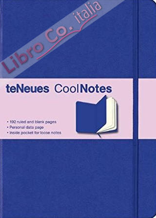 Cool Notes Blue/Blue. Ruled and blank.