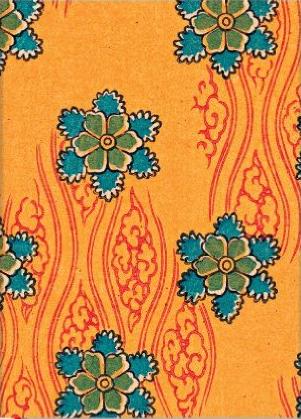 Paper Blanks Micro Journal - Nanohana Kimono Design.