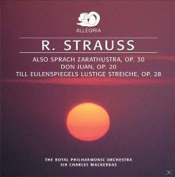 R. Strauss. Cosi' Parlo' Zarathustra (Also Spracht Zarathustra) Opus 30 - Don Giovanni - Till Eulenspiegels Lustige Streiche - Cd.