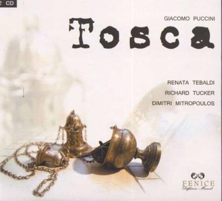Tosca. Giacomo Puccini. 2 CD.
