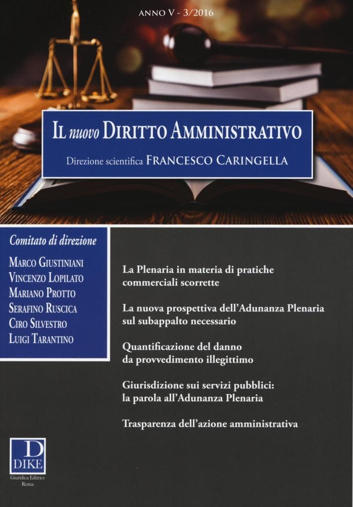 Il nuovo diritto amministrativo. Vol. 3.