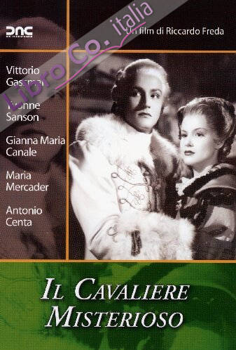Il Cavaliere Misterioso DVD.