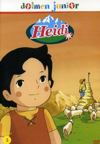 Heidi.  Volume 3. Dvd.