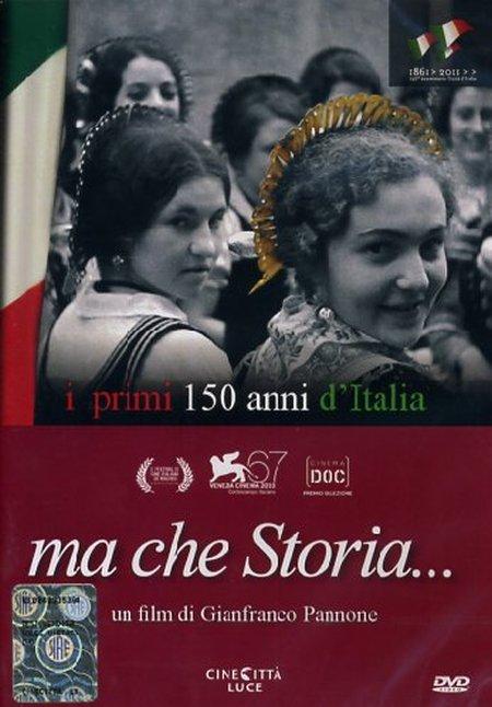 Ma che Storia. I Primi 150 d'Italia. DVD.