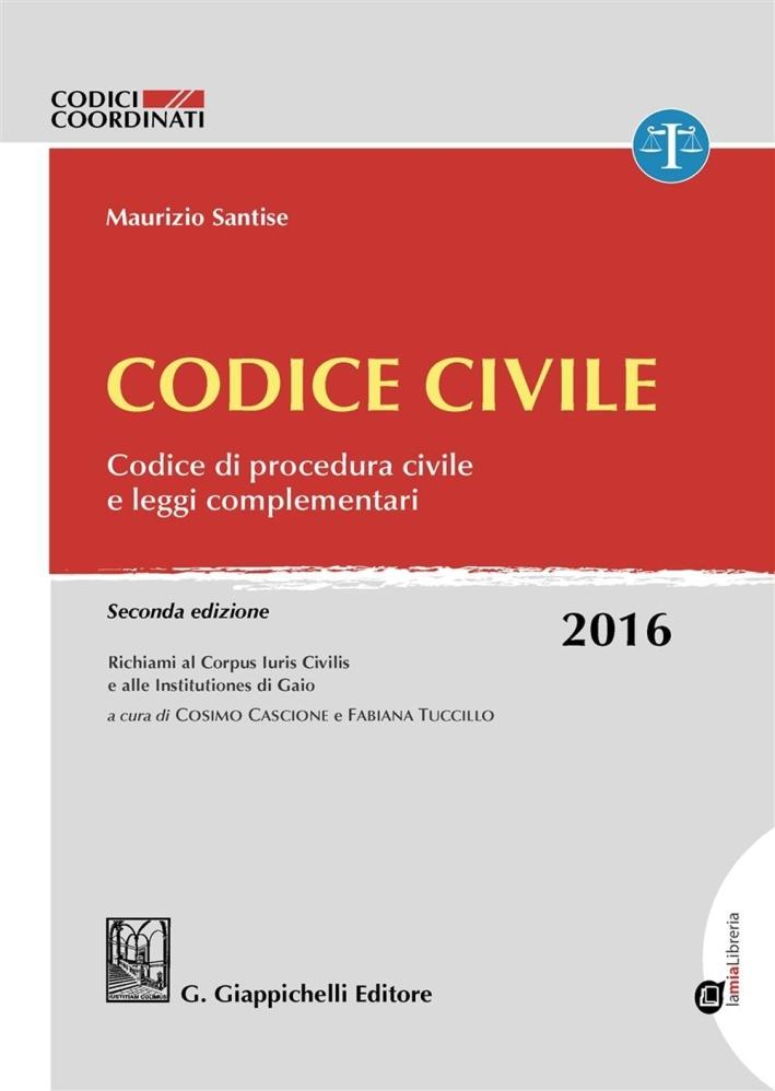 Codice Civile 2016.