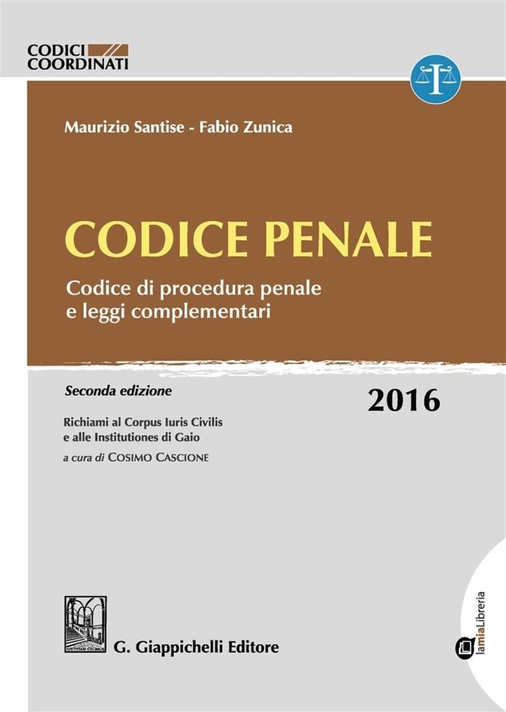 Codice Penale 2016.