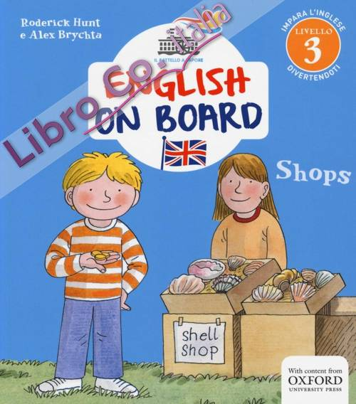 Shops. English on board. Vol. 6.