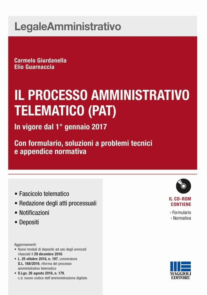 Il nuovo processo amministrativo telematico. Guida all'utilizzo del sistema informatico.
