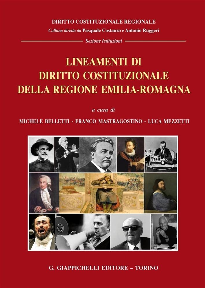 Lineamenti di diritto costituzionale della Regione Emilia-Romagna.