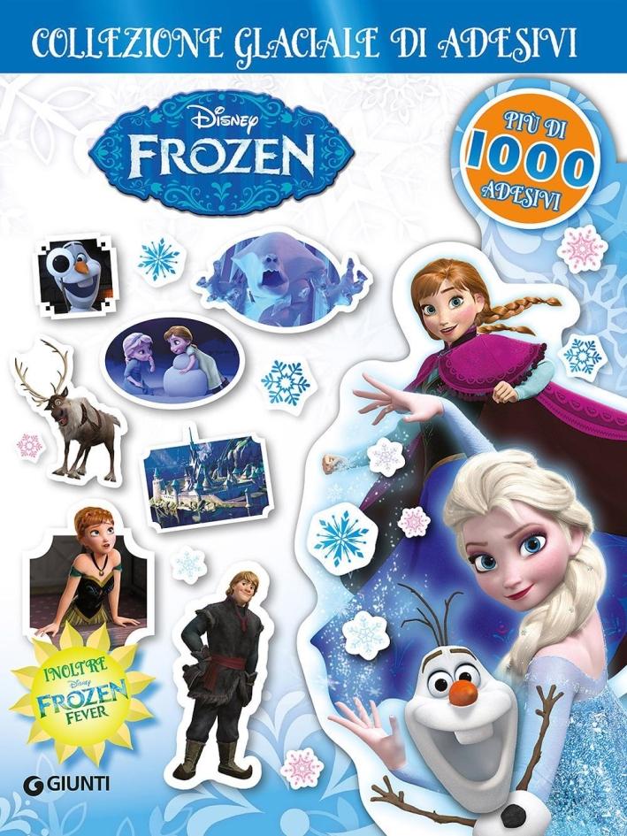 Collezione glaciale di adesivi. Frozen. Ediz. illustrata