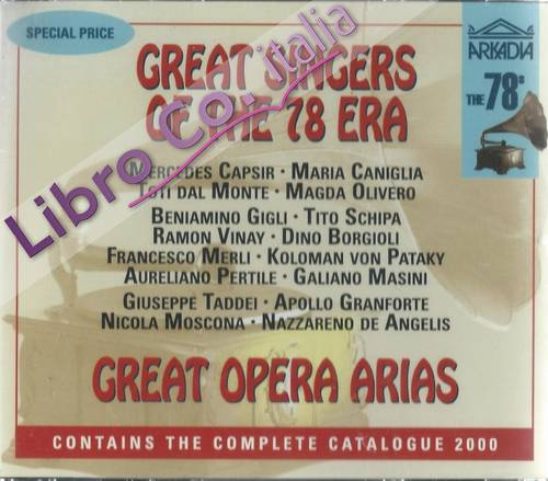 Great Singers of the 78 Era. 2CD