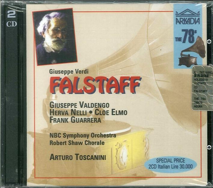 Falstaff. Giuseppe Verdi. 2CD.