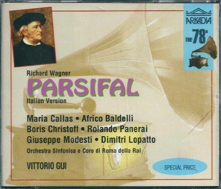 Parsifal. Richard Wagner 3CD.