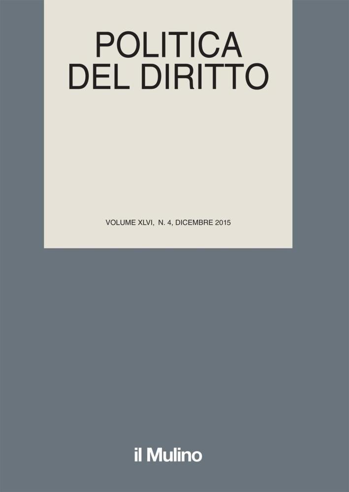 Politica del diritto (2015). Vol. 4