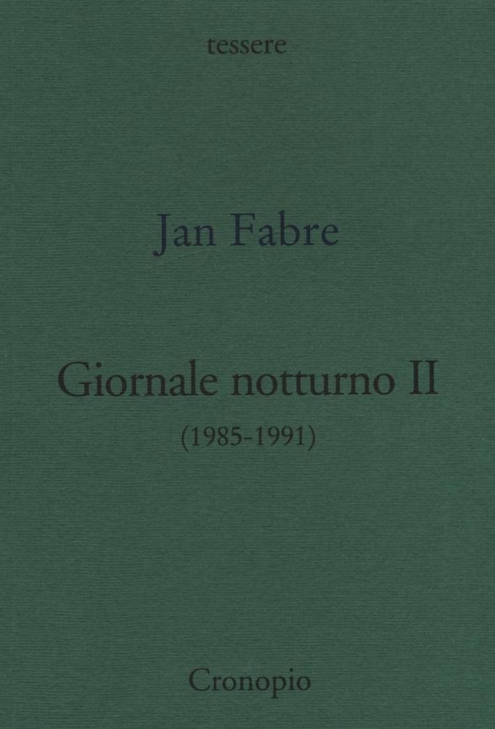 Giornale notturno (1985-1991). Vol. 2