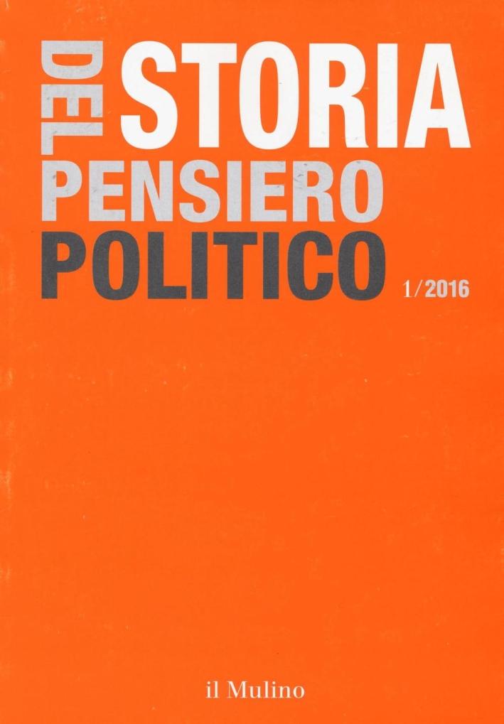Storia del pensiero politico (2016). Vol. 1.
