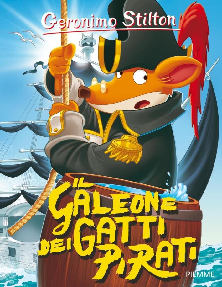 Il galeone dei gatti pirati.