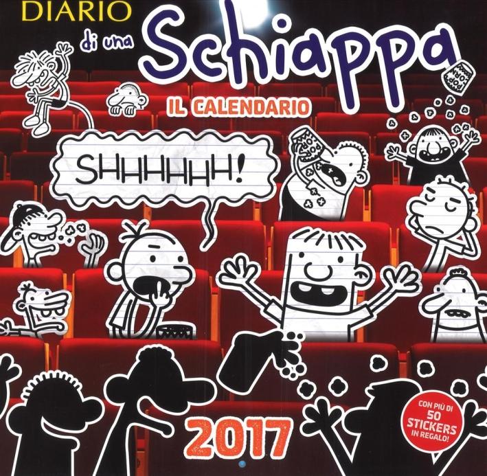 Diario di una schiappa. Calendario 2017.