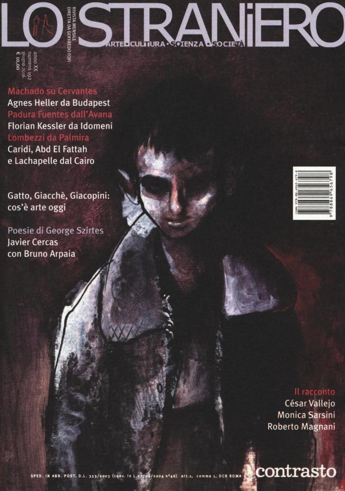 Lo straniero. Vol. 192.