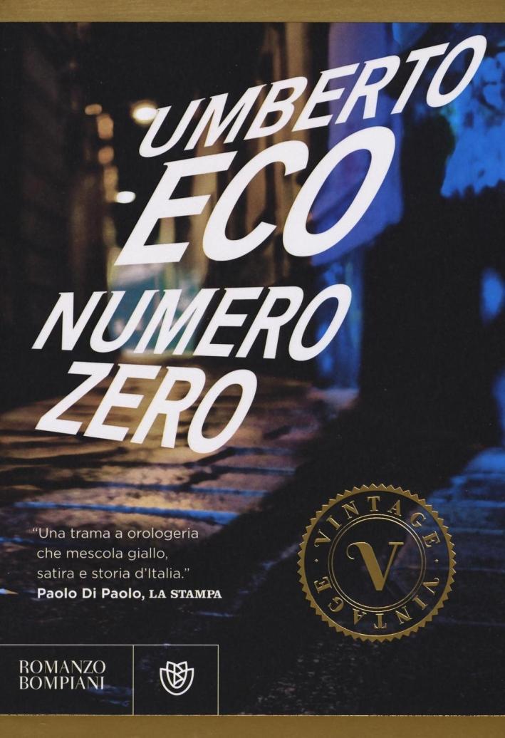 Numero zero.