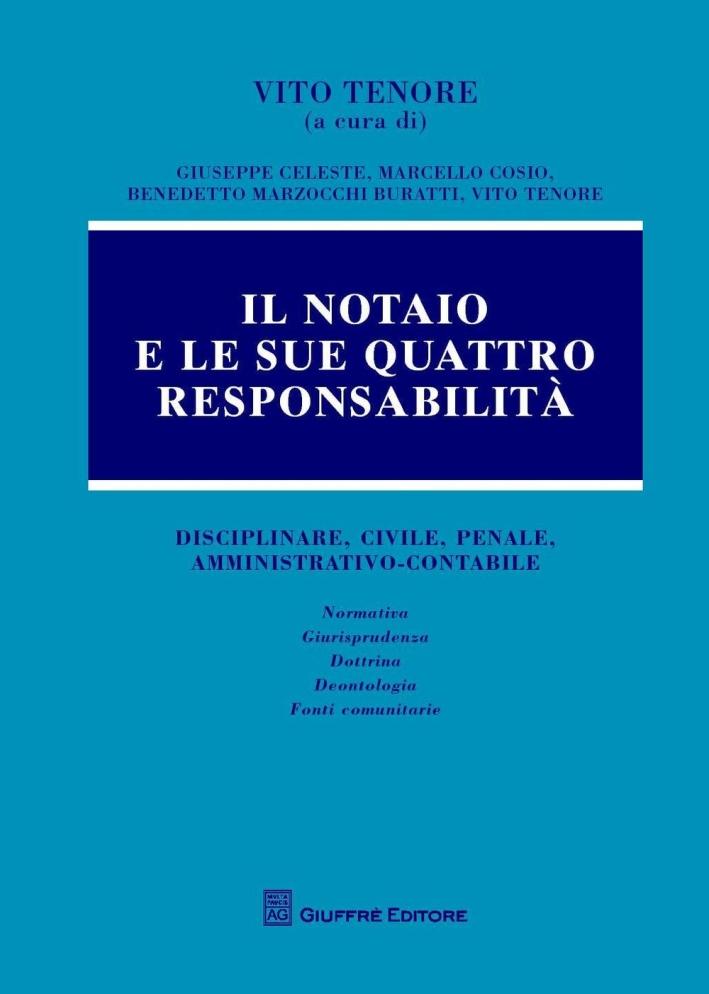 Il notaio e le sue 4 responsabilità