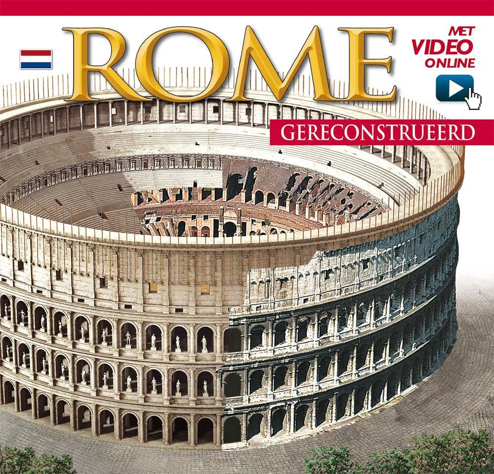 Roma ricostruita. Maxi edition. Ediz. olandese. Con DVD