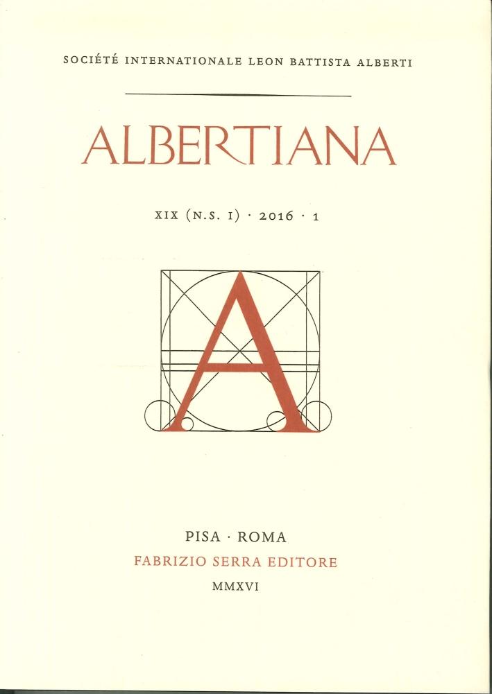 Albertiana XIX 2016 - 1