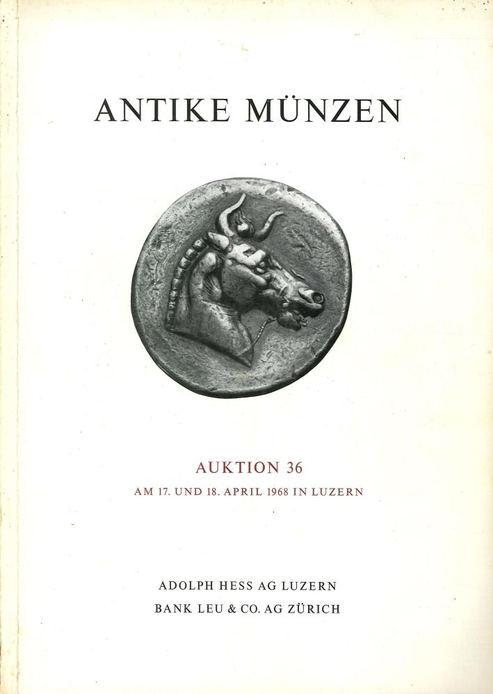 Antike Munzen. Griechen-Romen-Byzantiner. Auktion 36