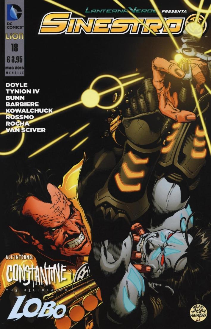 Lanterna verde presenta: Sinestro. Vol. 18.