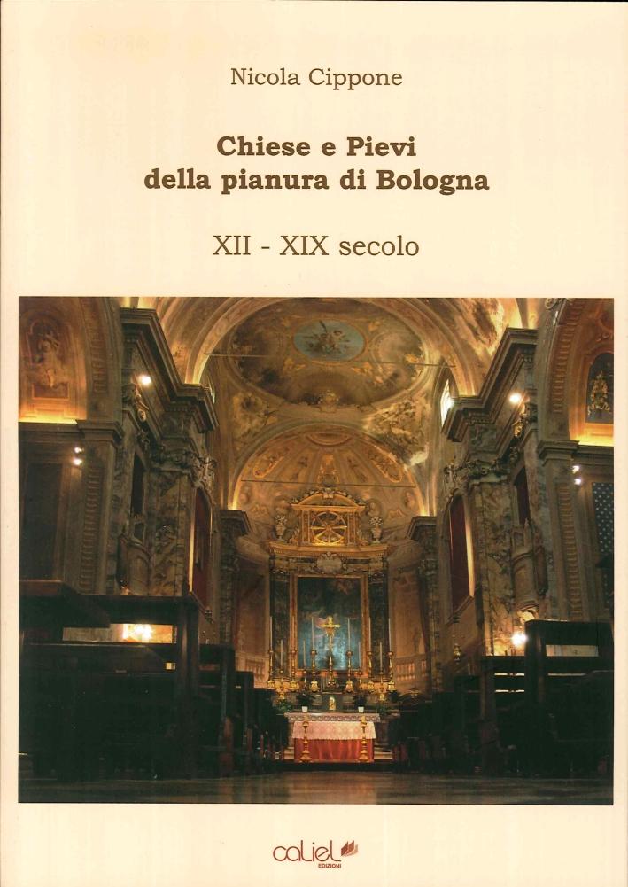 Chiese e Pievi della Pianura di Bologna. XII-XIX Secolo.
