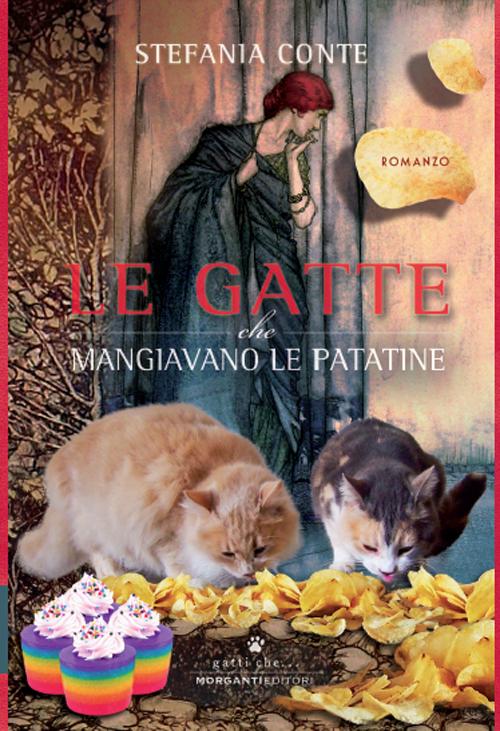 Le gatte che mangiavano le patatine.