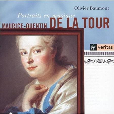 Portraits En Musique. Maurice-Quentin. Le Livre De Clavecin De Mauric. CD.