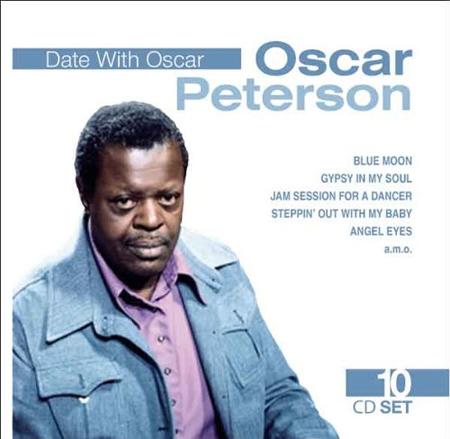 Date With Oscar. Oscar Peterson. 10CD Set