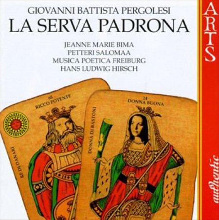 La Serva Padrona. Giovan Battista Pergolesi. CD.