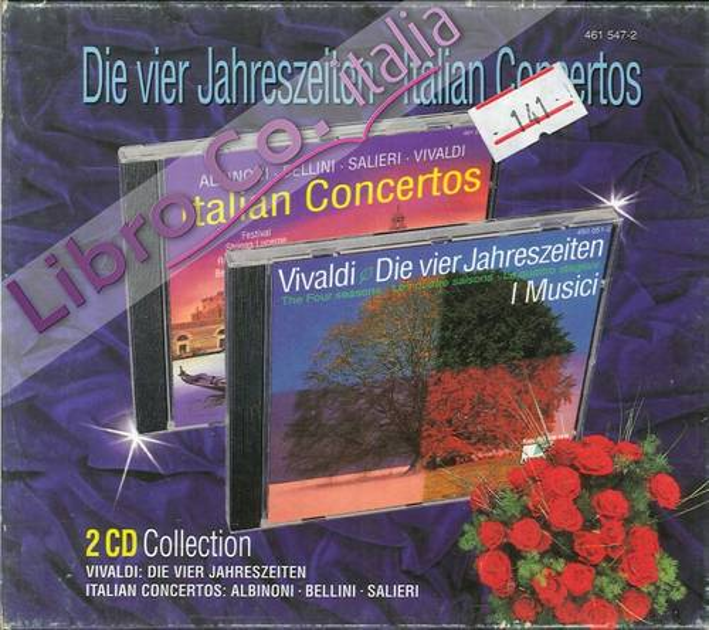 Vier Jahreszeiten Vivaldi. Italian Concertos 2 CD.