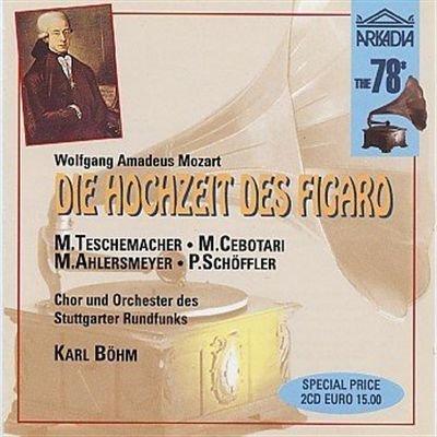Mozart. Die Hochzeit des Figaro. 2CD.