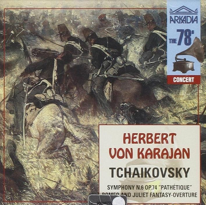 Herbert Von Karajan. Tchaikovsky. CD.