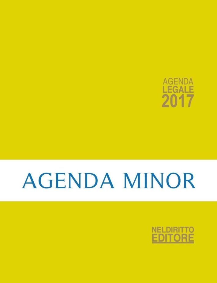 Agenda legale 2017 gialla. Ediz. minore.