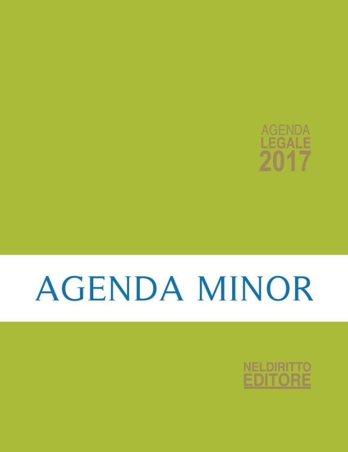 Agenda legale 2017 verde. Ediz. minore.